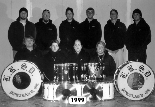 The Last Regiment Of Syncopated Drummers - 1999
