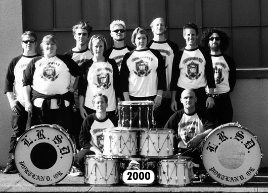 The Last Regiment Of Syncopated Drummers - 2000