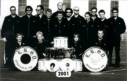The Last Regiment Of Syncopated Drummers - 2001