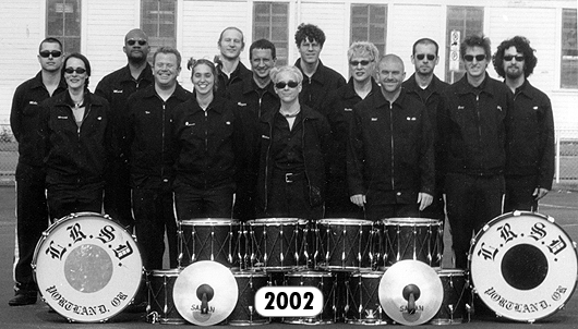The Last Regiment Of Syncopated Drummers - 2002