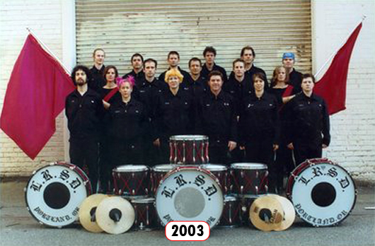 The Last Regiment Of Syncopated Drummers - 2003