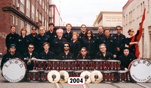 The Last Regiment Of Syncopated Drummers - 2004