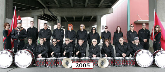 The Last Regiment Of Syncopated Drummers - 2005