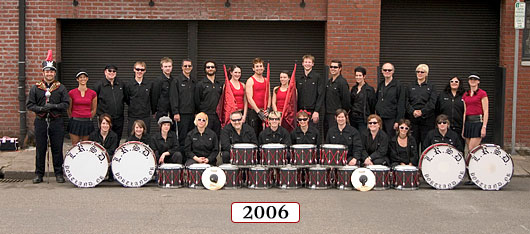 The Last Regiment Of Syncopated Drummers - 2006