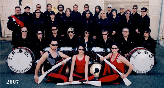 The Last Regiment Of Syncopated Drummers - 2007