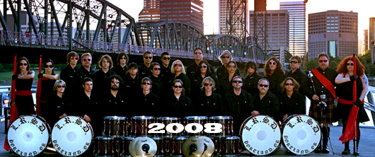 The Last Regiment Of Syncopated Drummers - 2008