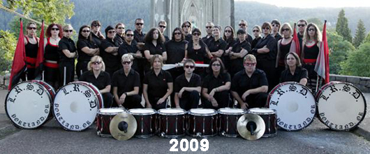 The Last Regiment Of Syncopated Drummers - 2009